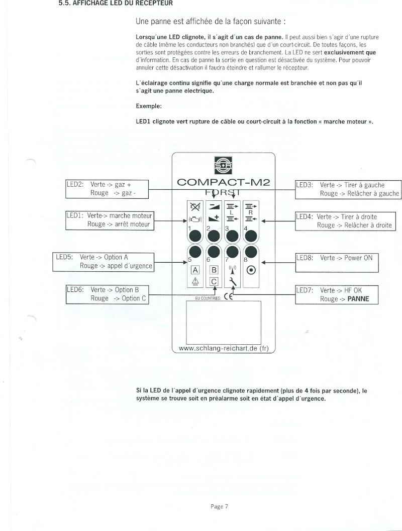 RADIO COMMANDE PLANAR V4 FORESTIER Numari21