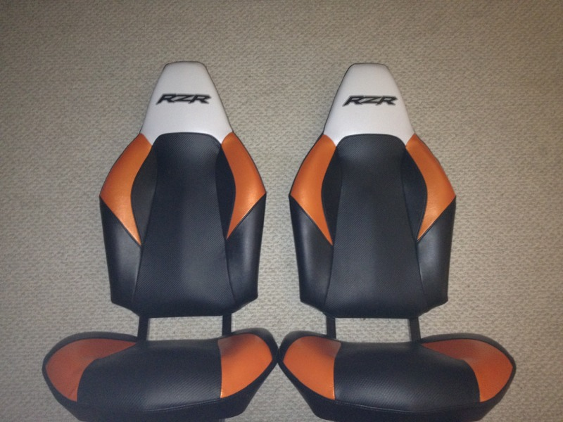 2012 RZR 4 seats - orange/black/white Imageu18