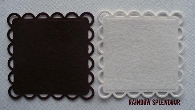 Rainbow Splendour Square felt doilies 016res10