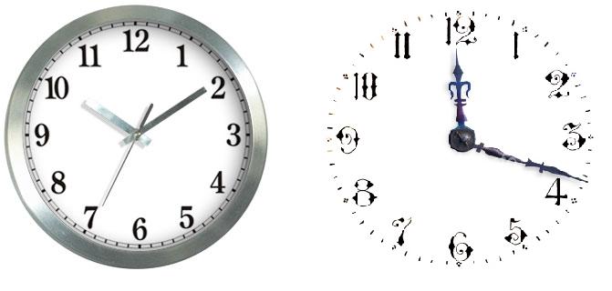 Изучаем время (ориентация во времени, часы) F10