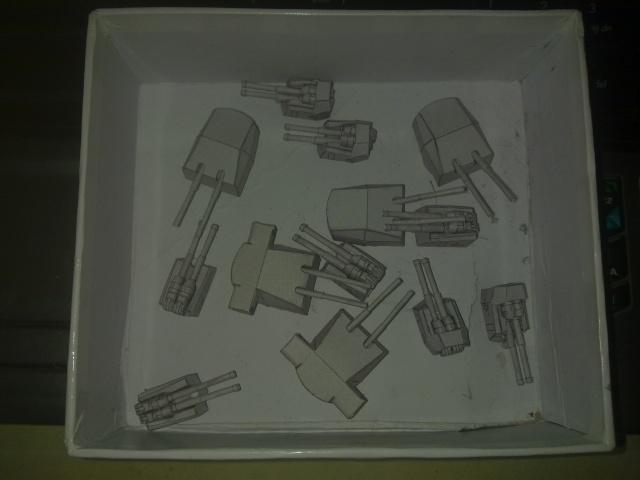 BISMARCK maly modelarz 1:300 - Seite 3 Waffen12