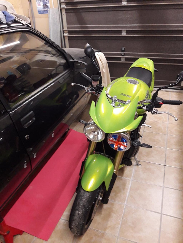 Vous rouler aussi à moto ... Montrez nous vos belles  - Page 2 20180511