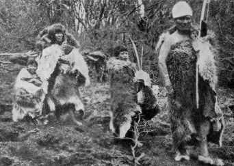Chasseurs cueilleurs de Patagonie Ona110