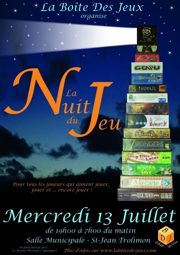 Nuit du Jeu - Juillet 2011 Affich10