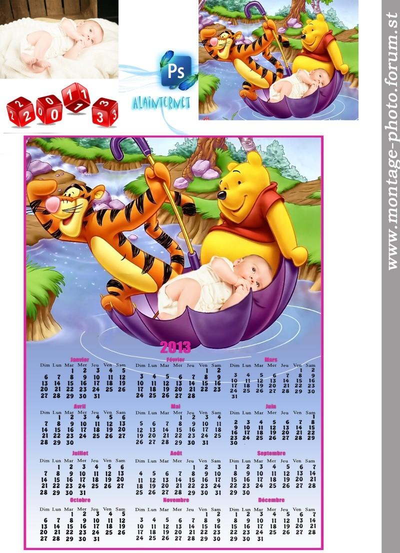 creation de Alainternet 'cartes de noel calendrier ect.... Calen138