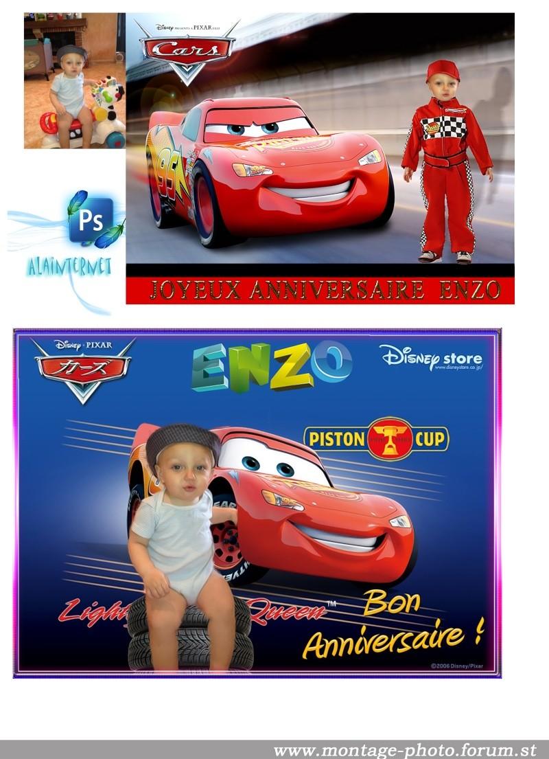 cartes anniversaire - Page 6 Enzo11
