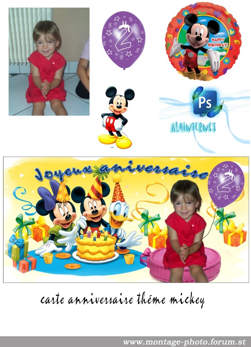 cartes anniversaire - Page 9 Mickey10