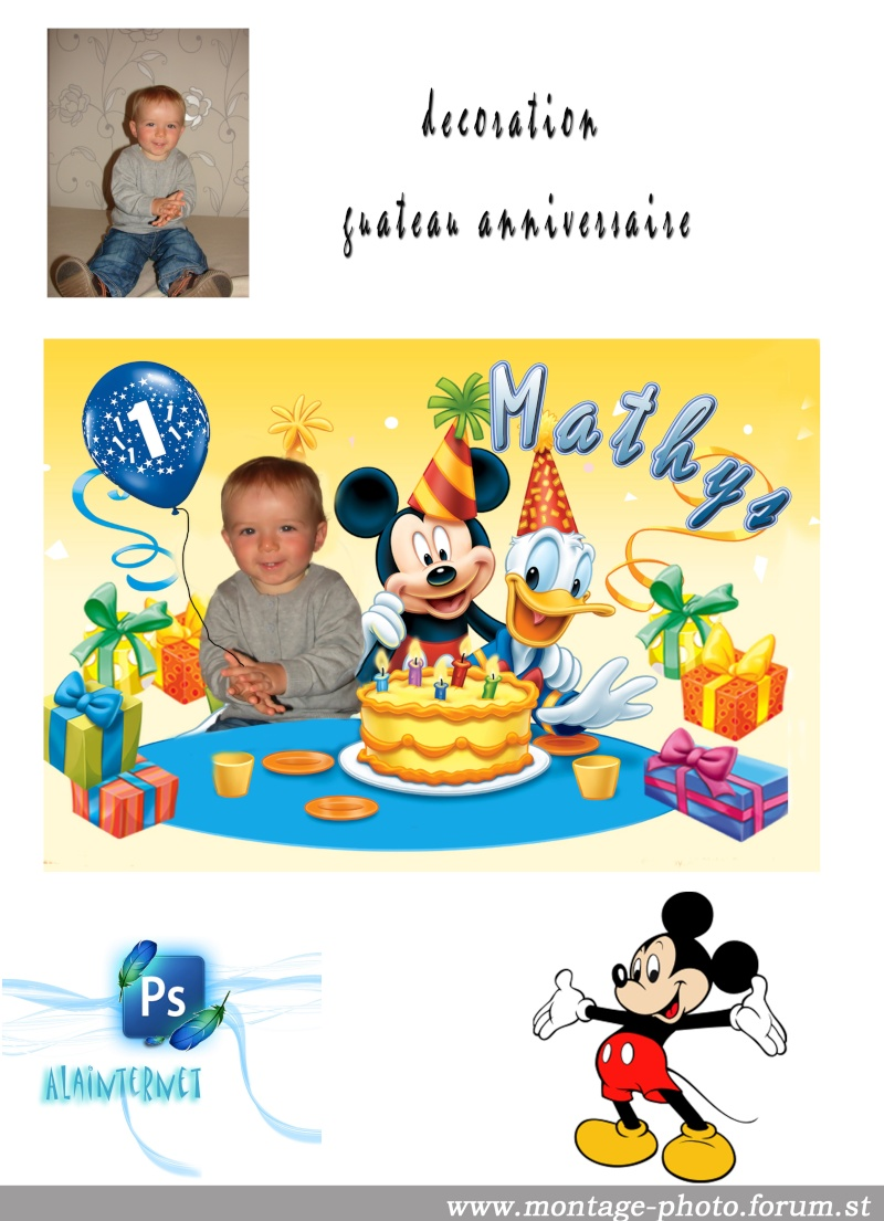 cartes anniversaire - Page 9 Mickey12