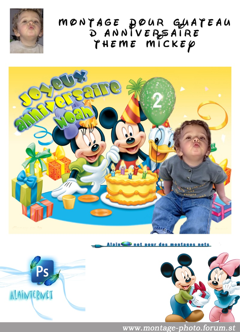 cartes anniversaire - Page 8 Mickey37