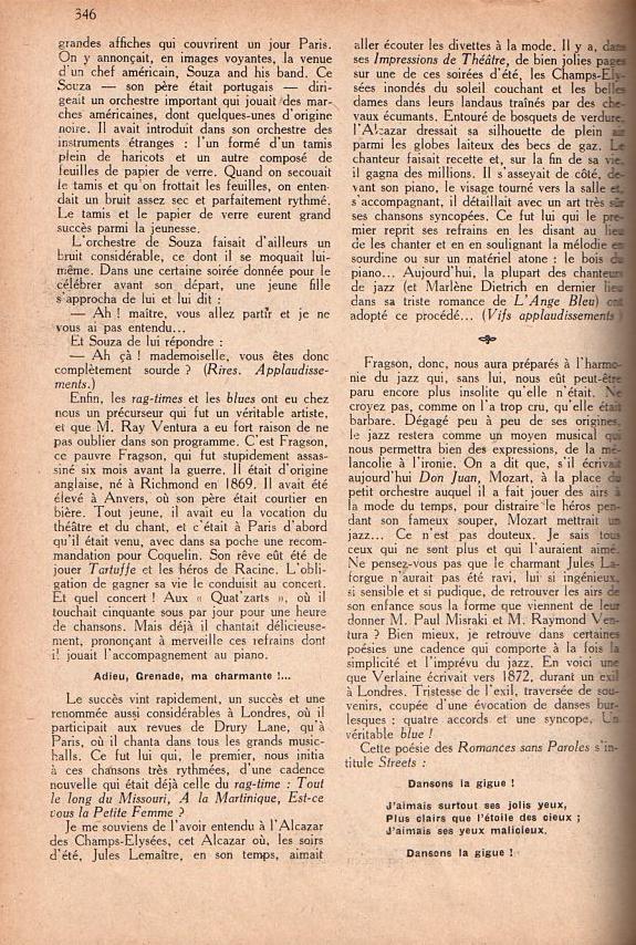 Jazz dans la presse Française! Confar15