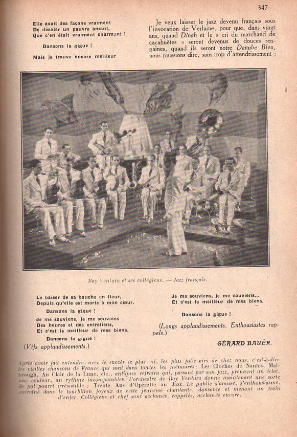 Jazz dans la presse Française! Confar16