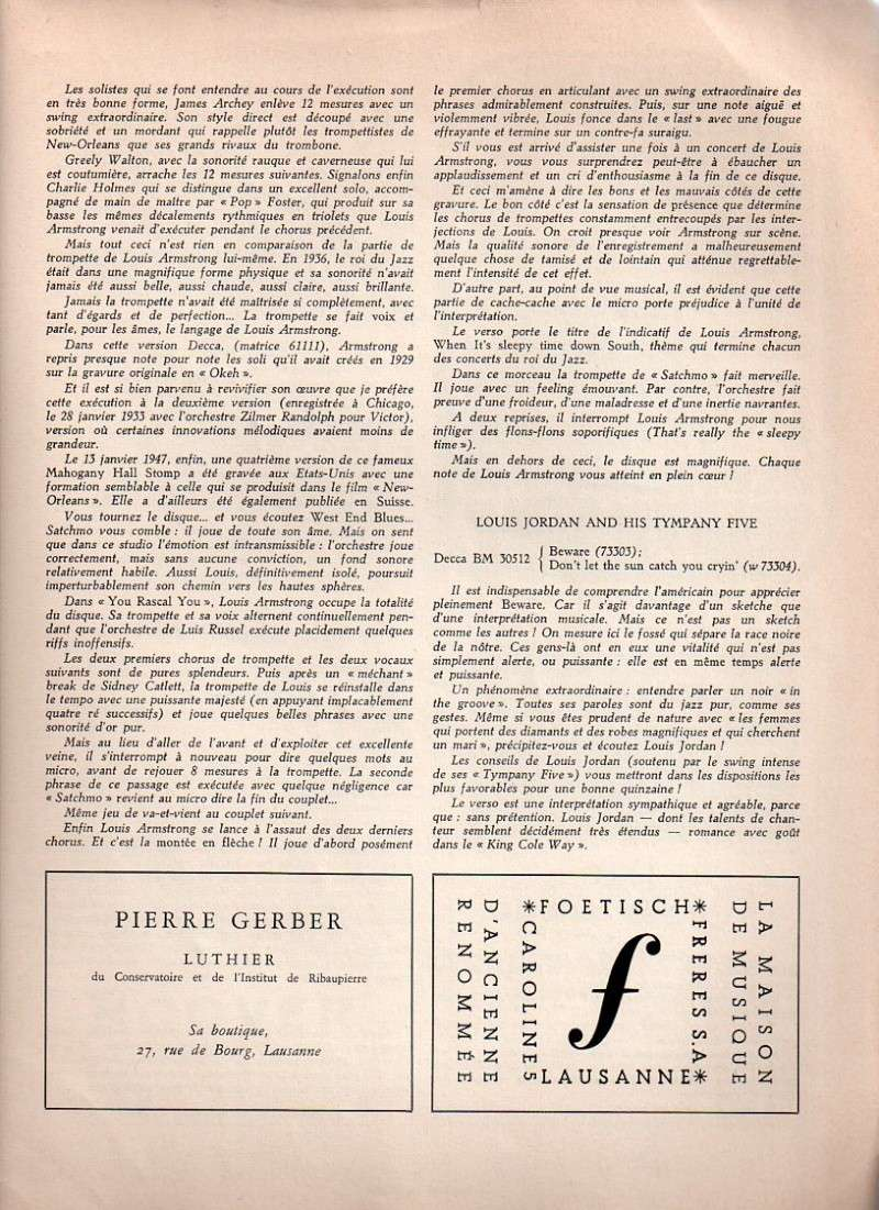 Jazz dans la presse Française! Formes19