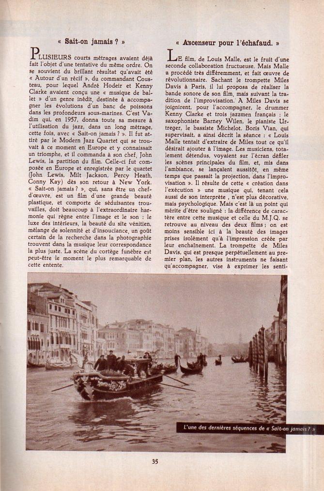 Jazz dans la presse Française! Musica13