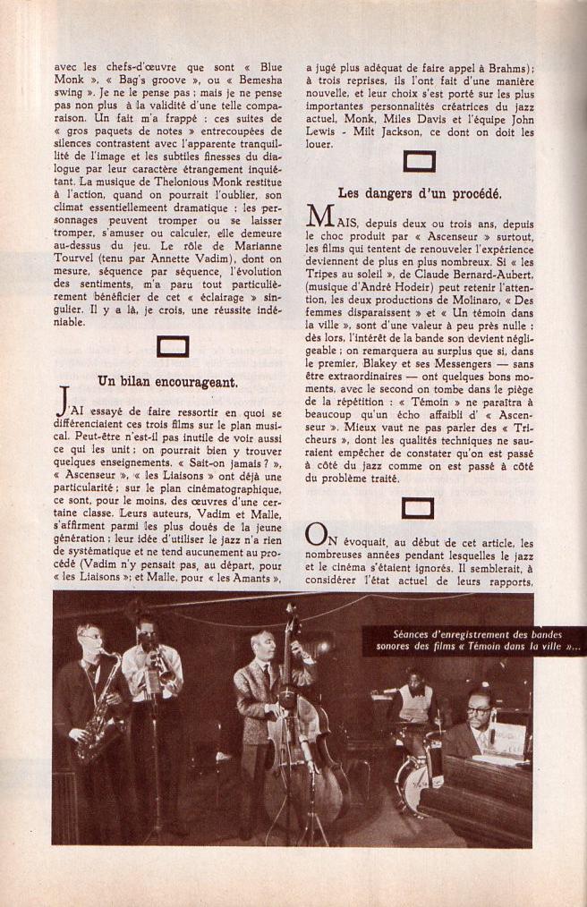 Jazz dans la presse Française! Musica16