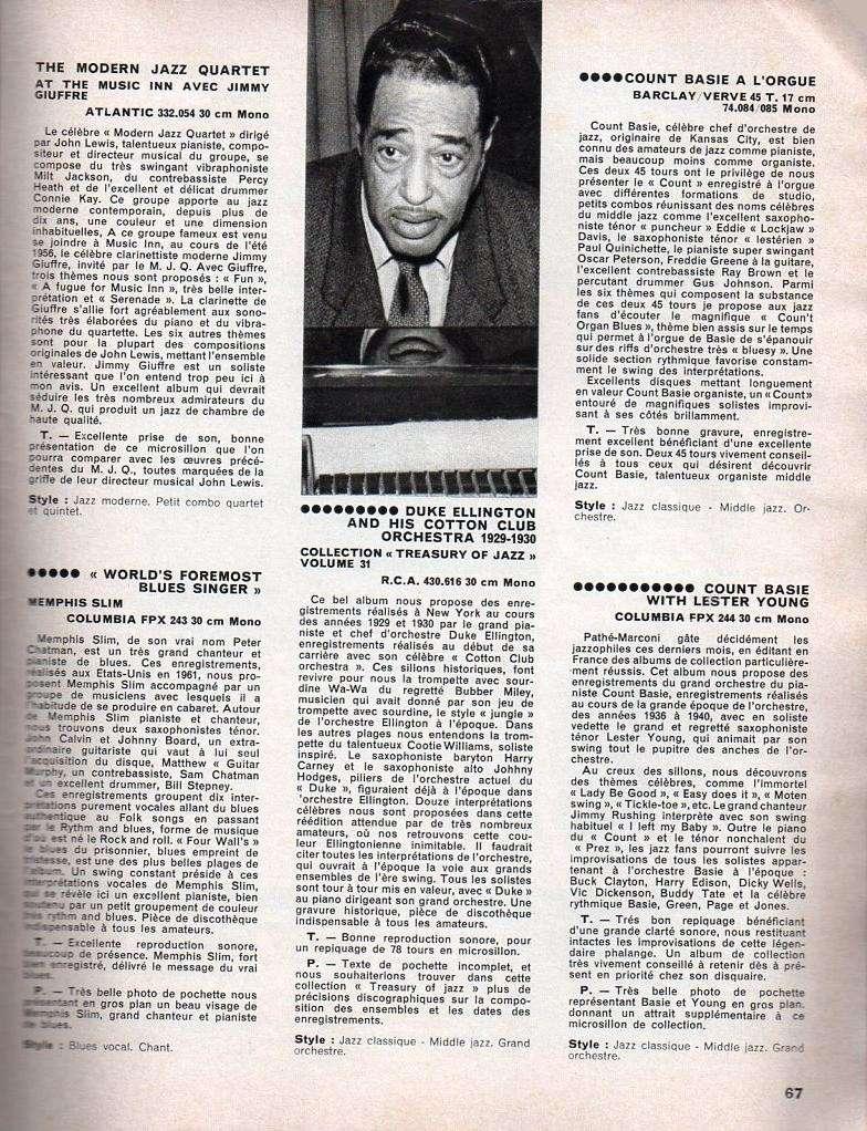 Jazz dans la presse Française! Musica19
