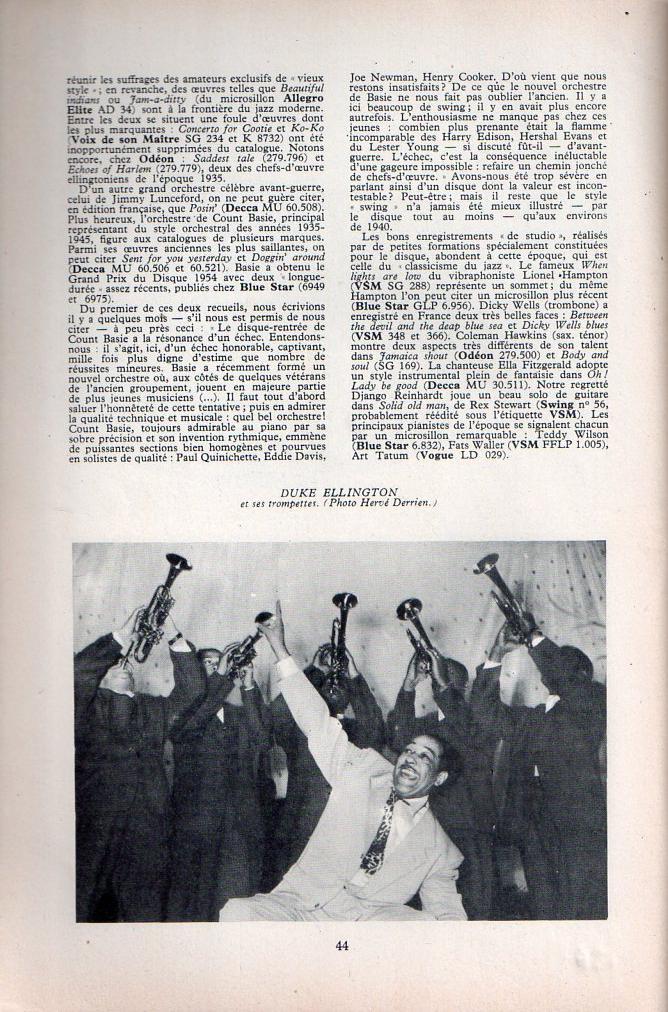 Jazz dans la presse Française! Musica22