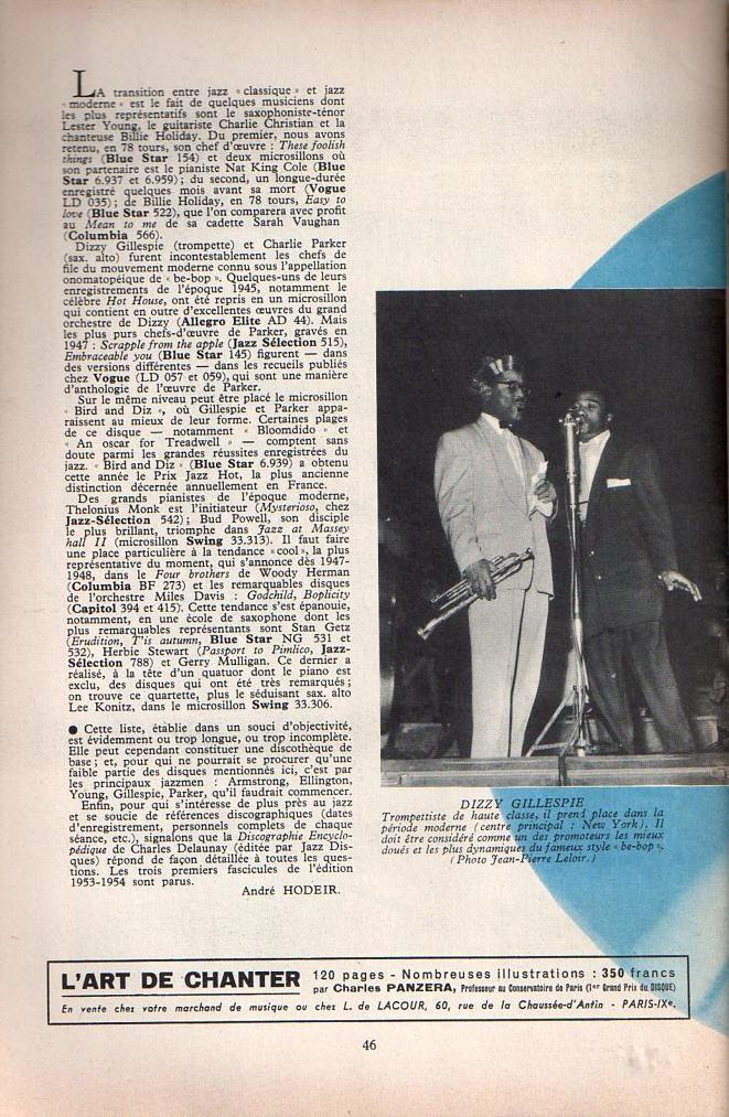 Jazz dans la presse Française! Musica23
