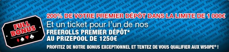 200% de bonus avec Barriere Poker Bandea10