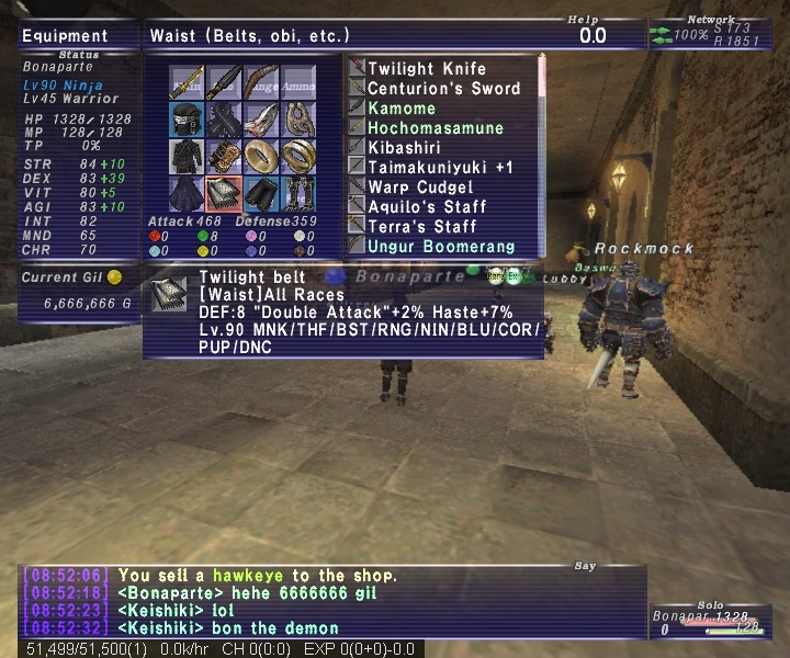 the number of the bona Ffxi_211