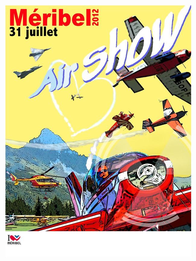 Méribel Air Show 2012 Affich10
