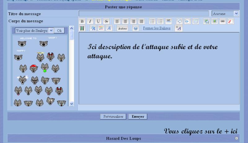 """16 ♦ Les combats """" officiels """" : Explication des dés Da110"""