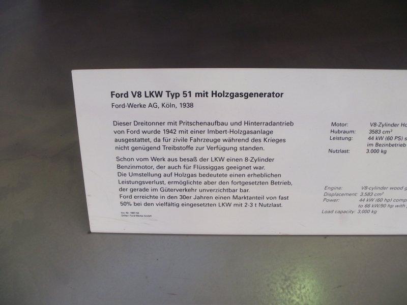 FORD V8 LKW Typ 51 mit Holzgasgenerator 2011_060
