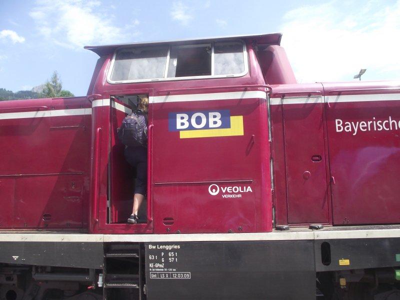 BOB V 216, ex DB V 100, 212 Bayri119