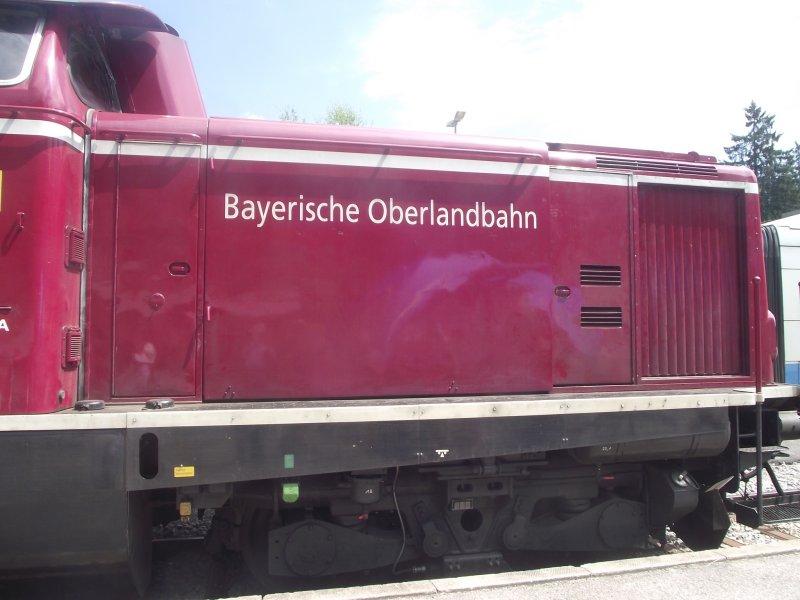 BOB V 216, ex DB V 100, 212 Bayri120