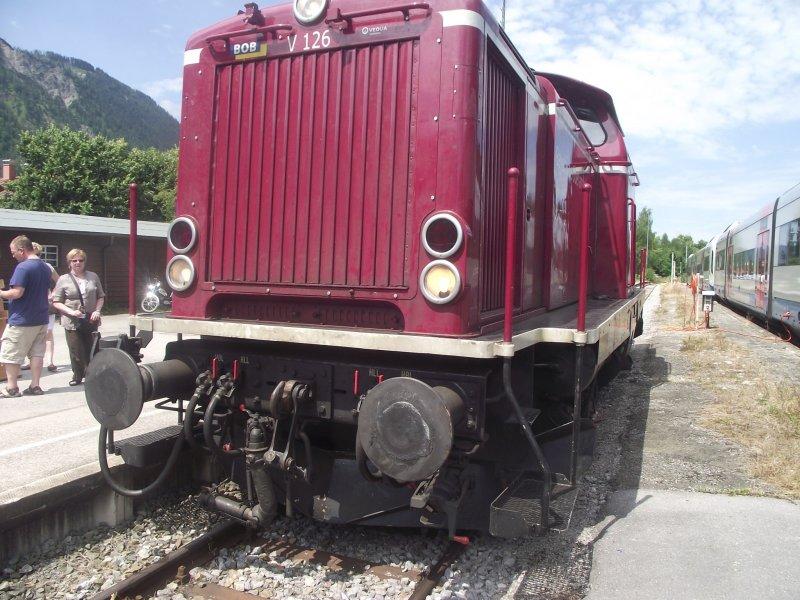 BOB V 216, ex DB V 100, 212 Bayri121