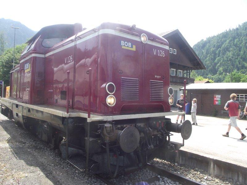 BOB V 216, ex DB V 100, 212 Bayri127