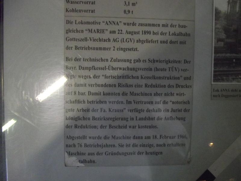 "Dampflokomotive LGV ""ANNA"" Beis_102"