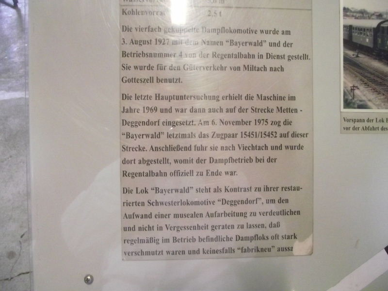 "Dampflokomotive R.A.G. Nr. 4 ""Bayerwald"" Beis_112"