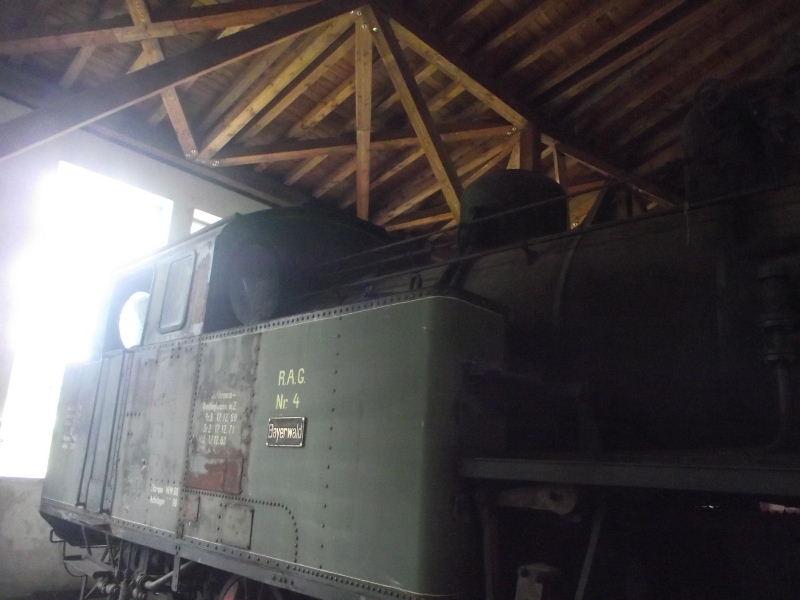 "Dampflokomotive R.A.G. Nr. 4 ""Bayerwald"" Beis_118"