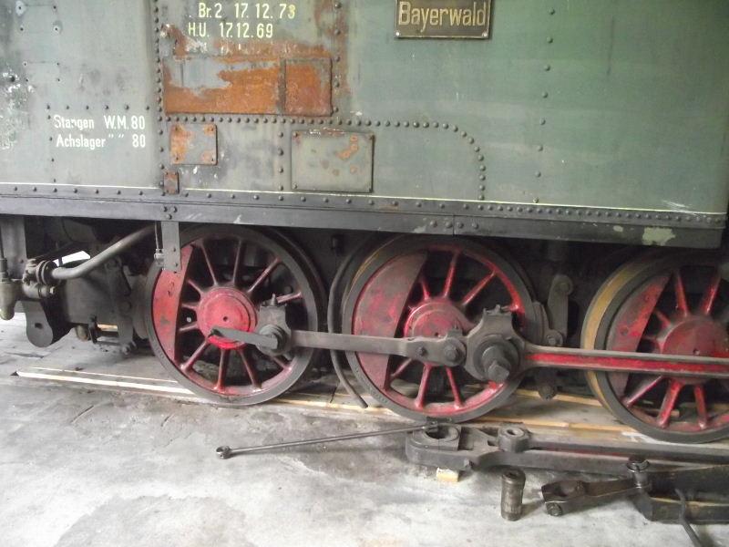 "Dampflokomotive R.A.G. Nr. 4 ""Bayerwald"" Beis_120"