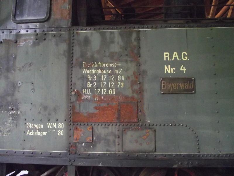 "Dampflokomotive R.A.G. Nr. 4 ""Bayerwald"" Beis_121"