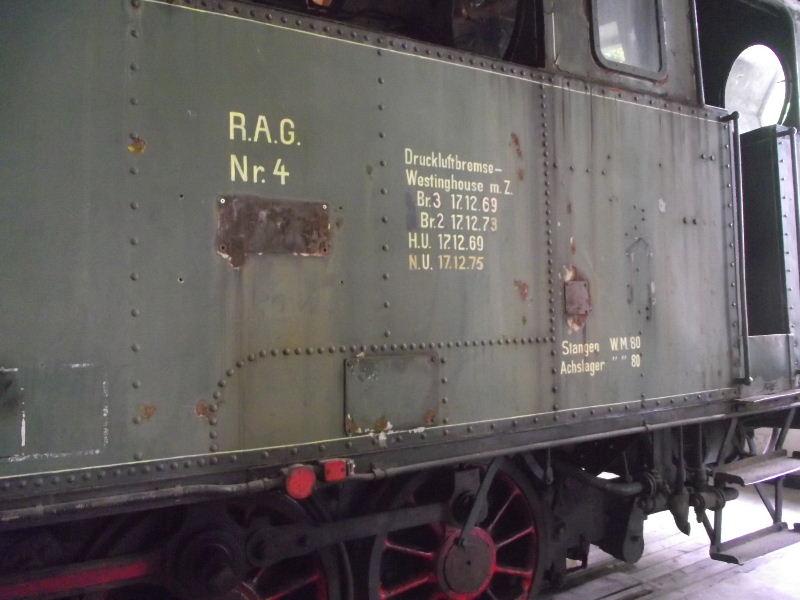 "Dampflokomotive R.A.G. Nr. 4 ""Bayerwald"" Beis_135"