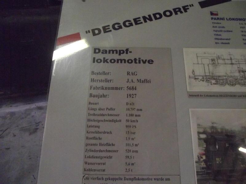 "Dampflokomotive R.A.G. Nr. 5 ""Deggendorf"" Beis_164"