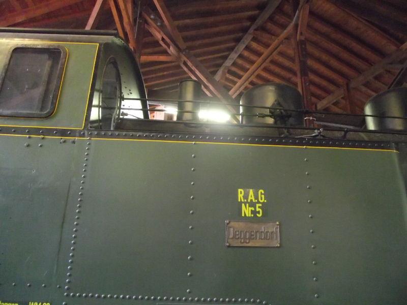 "Dampflokomotive R.A.G. Nr. 5 ""Deggendorf"" Beis_186"