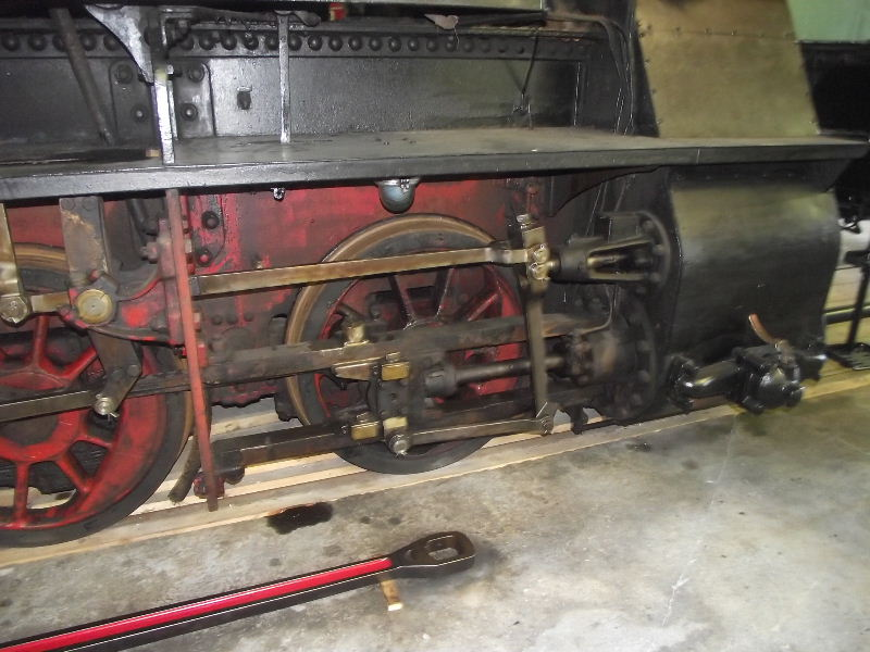 "Dampflokomotive LLK ""OSSER"" Beis_206"