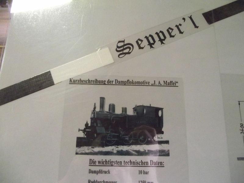 "Dampflokomotive ""Sepper´l"" , bay. DII Beis_213"