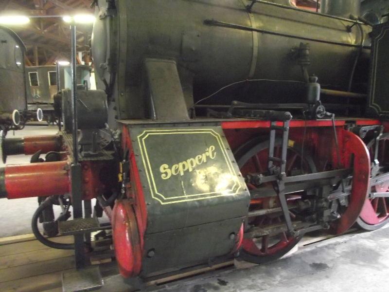 "Dampflokomotive ""Sepper´l"" , bay. DII Beis_217"