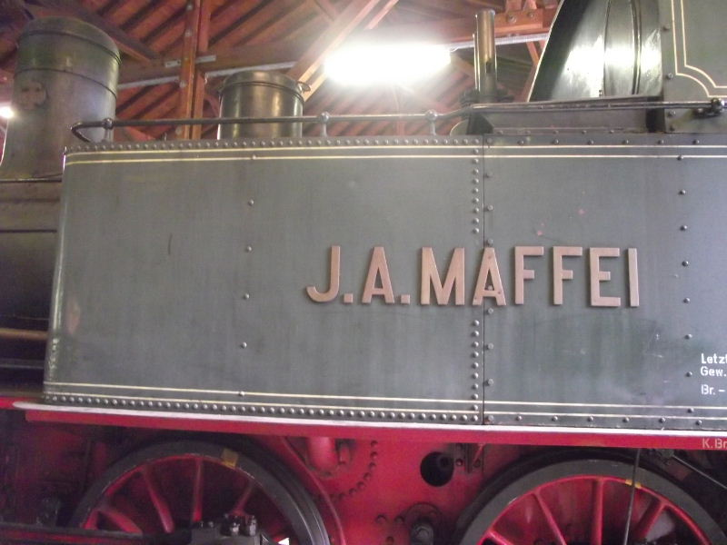 "Dampflokomotive ""Sepper´l"" , bay. DII Beis_224"