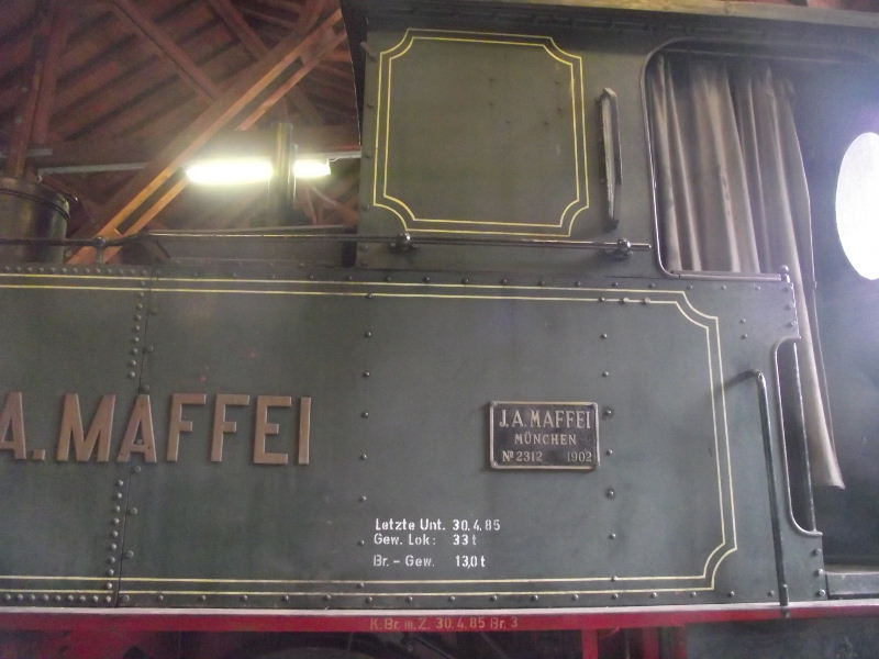"Dampflokomotive ""Sepper´l"" , bay. DII Beis_225"
