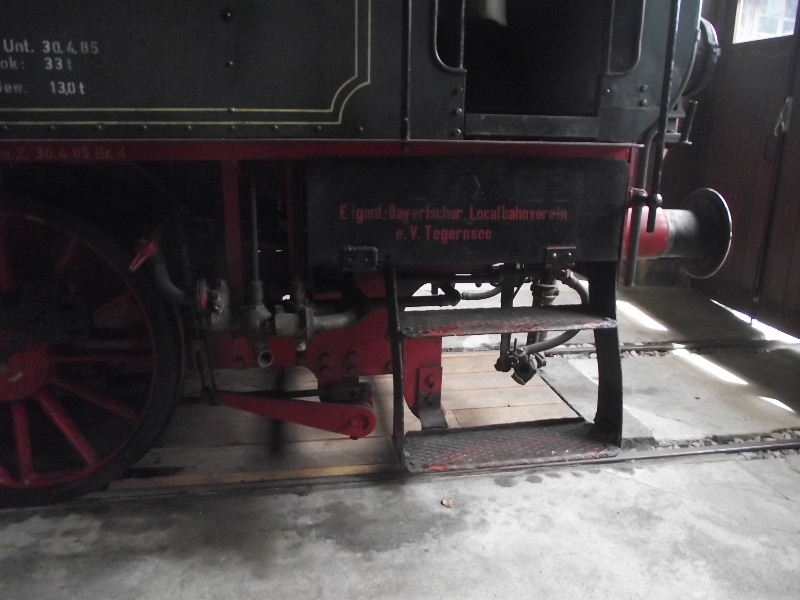 "Dampflokomotive ""Sepper´l"" , bay. DII Beis_226"