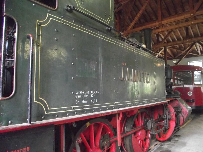 "Dampflokomotive ""Sepper´l"" , bay. DII Beis_232"