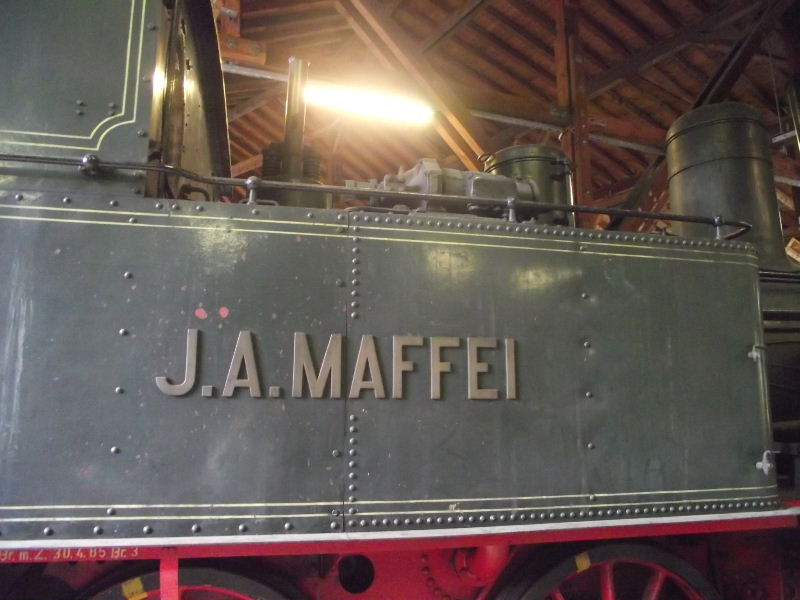 "Dampflokomotive ""Sepper´l"" , bay. DII Beis_233"