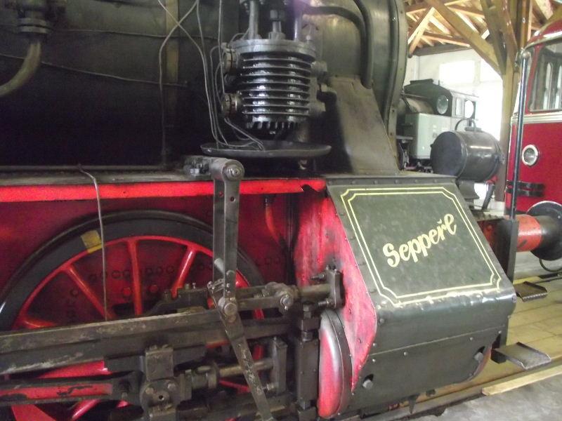 "Dampflokomotive ""Sepper´l"" , bay. DII Beis_236"