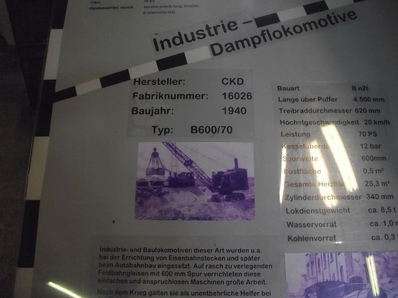 Schmalspur-Lokomotive B 600/70 Beis_265