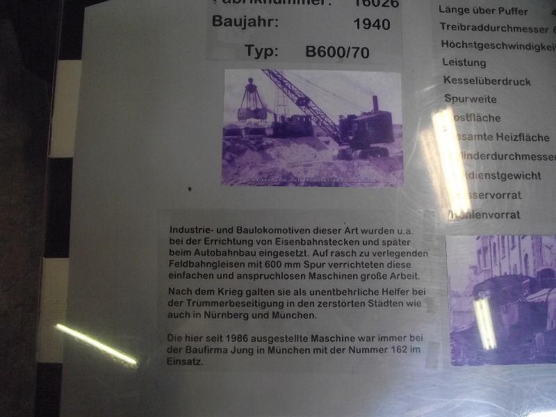 Schmalspur-Lokomotive B 600/70 Beis_266