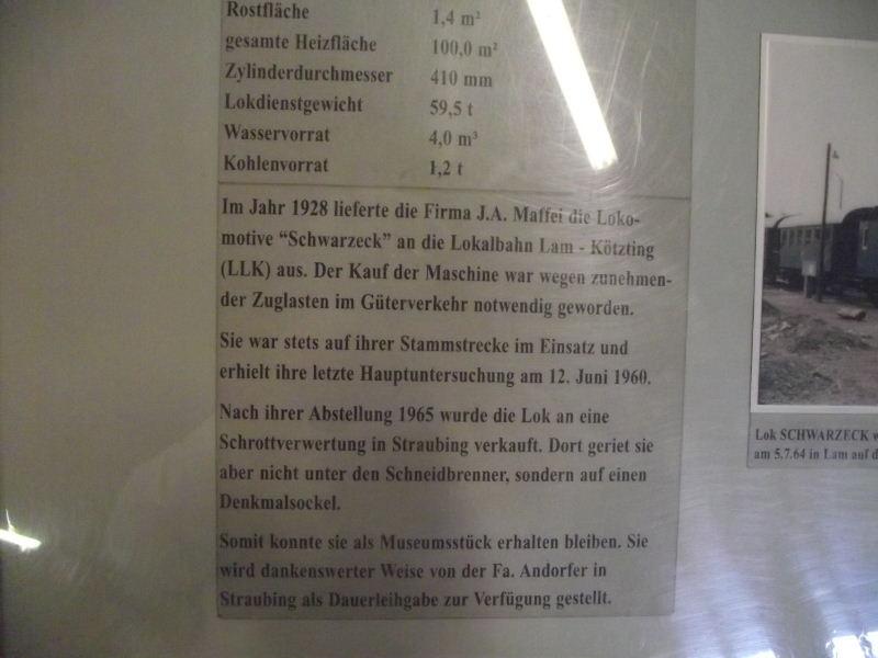 """Dampflokomotive LLK """"SCHWARZECK"""" Beis_303"""